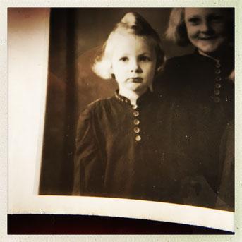 Annelie Runge  mit Schwester Herta Foto Privat