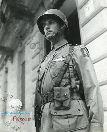 Colonel William Yorborough, new 509 commander . Naples Italy.