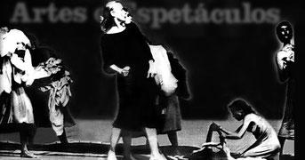 Frauenballett von Susanne Linke Wiederaufnahme 1988