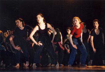 Frauenballett Susanne Linke Workshop mit der Kibbutz Dance School Israel 1993