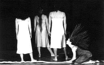 Frauenballett von Susanne Linke Wiederaufnahme 1990