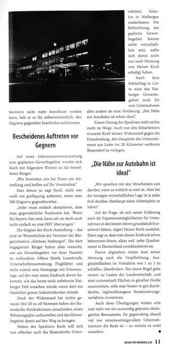 Weser-Ems Manager 2/09, S.11