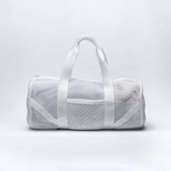 Sporttasche weiß mesh aus Hamburg