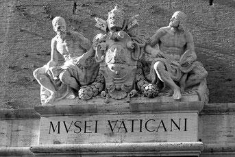ehemailiger Haupteingang der Vatikanischen Museen