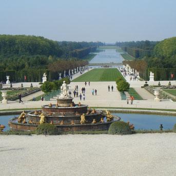 Schloss Versaille Schlossgarten