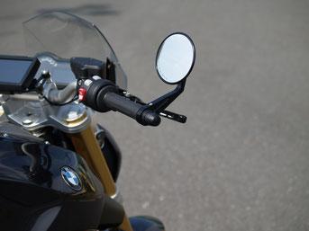Lenkerndenspiegel Highsider, Lenkerendenblinker BMW R 1200 R, Kellermann BL 2000