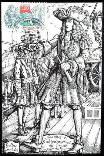 Illustration d'un Corsaire Basque.