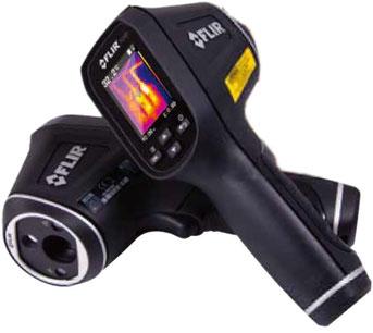 サーマルイメージ放射温度計TG167