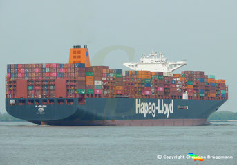 Containerschiff AL JMELIYAH