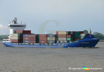 Containerschiff ASTRORUNNER