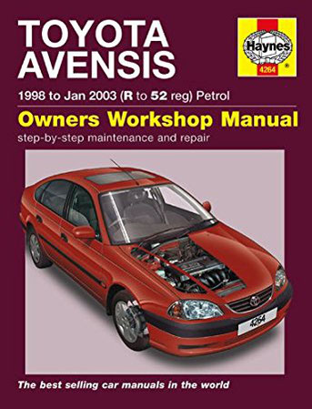 Toyota Avensis Workshop Manuals