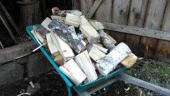 Holz holen, jenen Tag ...