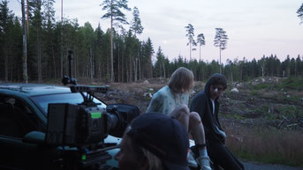 Lumi Lausas und Erik Hamann