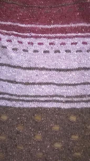 Modell Mai 2015 in rosa-braun