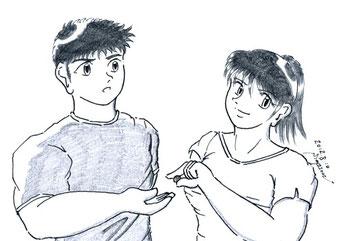 修平と夏輝(第8話 Marron Chocolate Time)