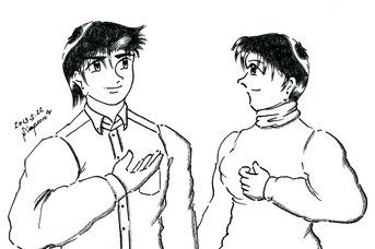 ミカとケンジ(外伝第2集第3話 契りタイム)