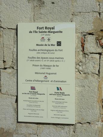 Fort Royal de l'île Ste-Marguerite