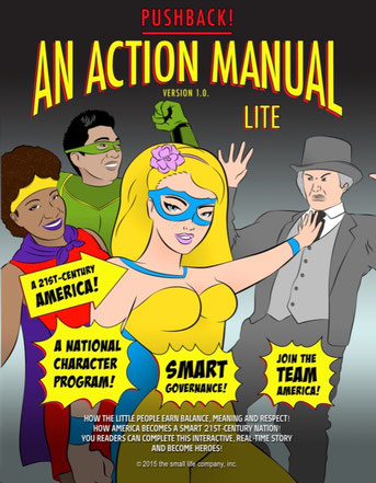 The Action Manual Lite's front cover