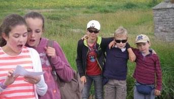 Sortie des servants d'autel à l'Ile de Batz (juin 2014)