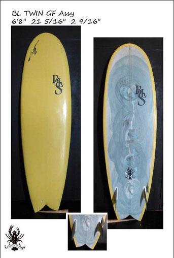 Fun surf間違いないボードです♪ 本日旅立ちました。ステキな相棒になりますように!