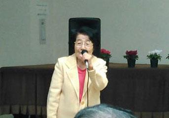 締めのご挨拶はやはりこの方、小野伊津子先生。間合いもオチも絶妙です