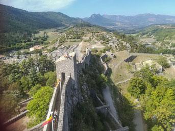 Bild: Zitadelle von Sisteron