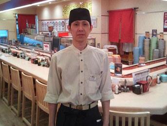 回転寿司魚敬横浜ジョイナス店店長