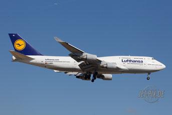 D-ABVL Lufthansa Boeing 747