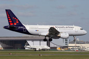 OO-SSN Brussels Airlines A319