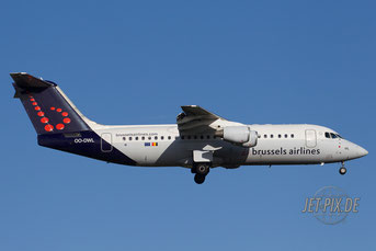 OO-DWL Brussels Airlines Avro