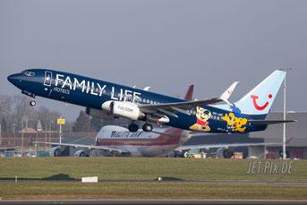 OO-JAF Jetairfly Boeing 737