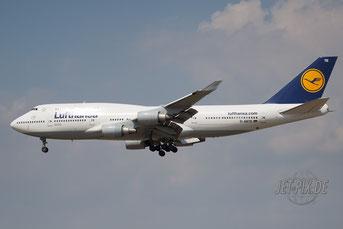 D-ABTE Lufthansa Boeing 747