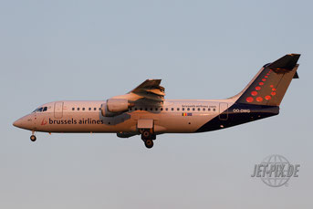 OO-DWG Brussels Airlines Avro