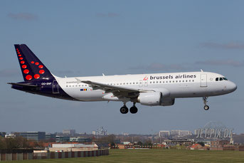 OO-SNF Brussels Airline s A320