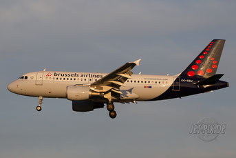 OO-SSU Brussels Airlines A319
