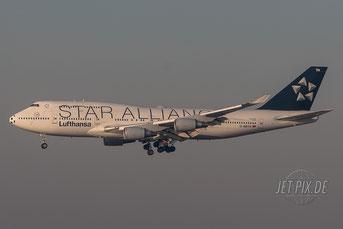 D-ABTH Lufthansa Boeing 747