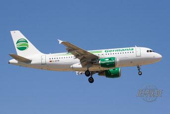D-ASTB Germania Airbus A319