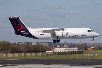 OO-DWA Brussels Airlines Avro