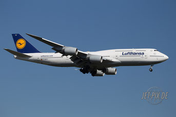 D-ABYC Lufthansa Boeing 747