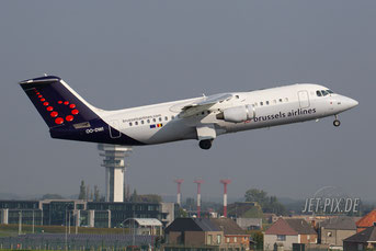 OO-DWI Brussels Airlines Avro