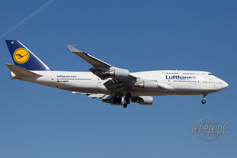 D-ABTK Lufthansa Boeing 747