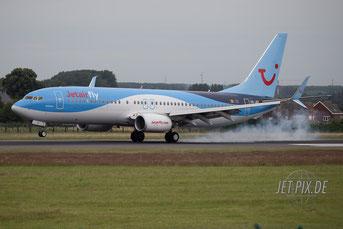 OO-JEF Jetairfly Boeing 737