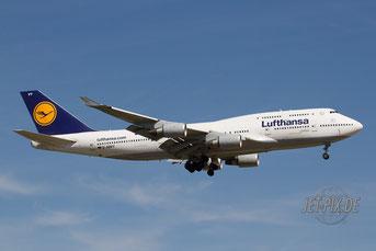 D-ABVY Lufthansa Boeing 747