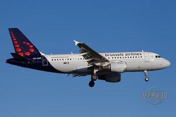 OO-SSP Brussels Airlines A319
