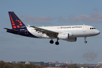 OO-SSR Brussels Airlines A319