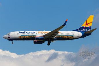 D-ASXP SunExpress Boeing 737