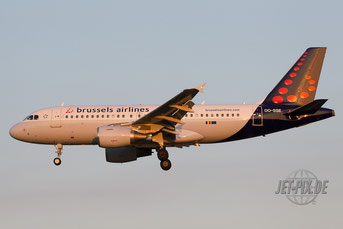 OO-SSE Brussels Airlines A319