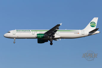 D-ASTW Germania Airbus A321