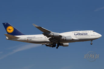 D-ABVT Lufthansa Boeing 747