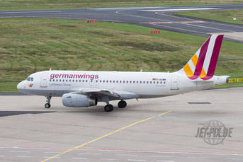 D-AGWM Germanwings A319